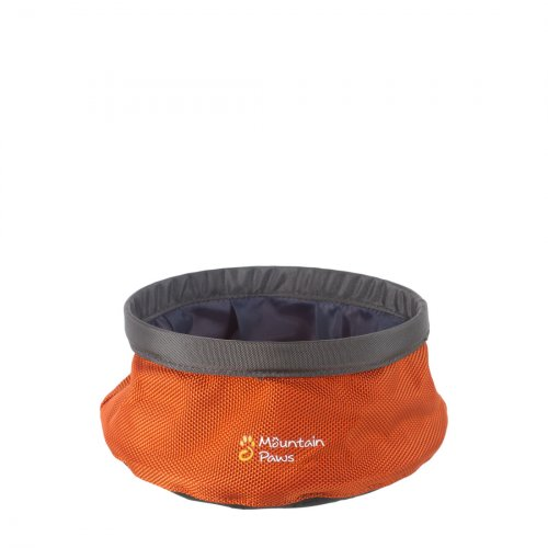 Small Dog Water Bowl - Orange