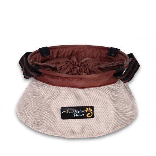 Portable Dog Bowl - Beige