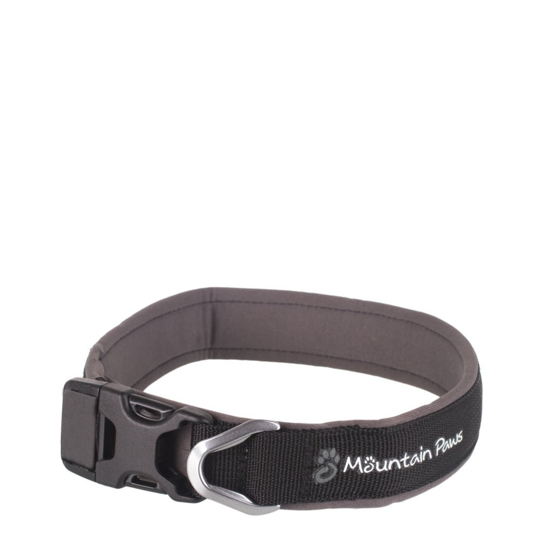 Large black dog collar