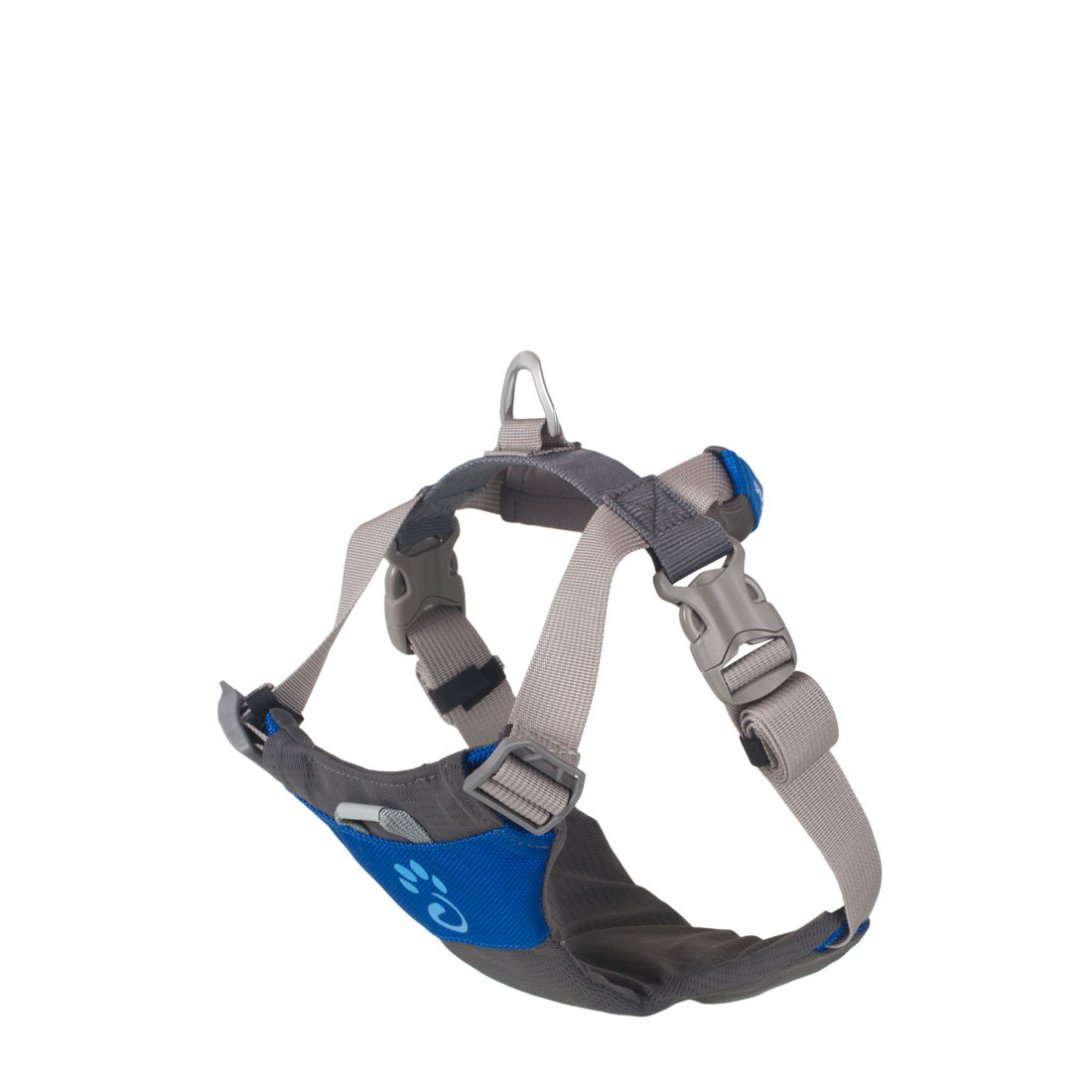 X large blue dog harness