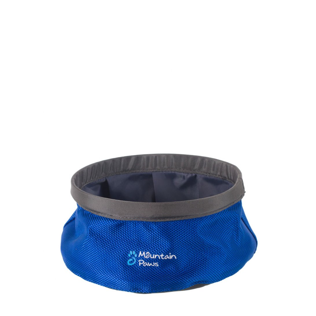 Blue small dog water bowl