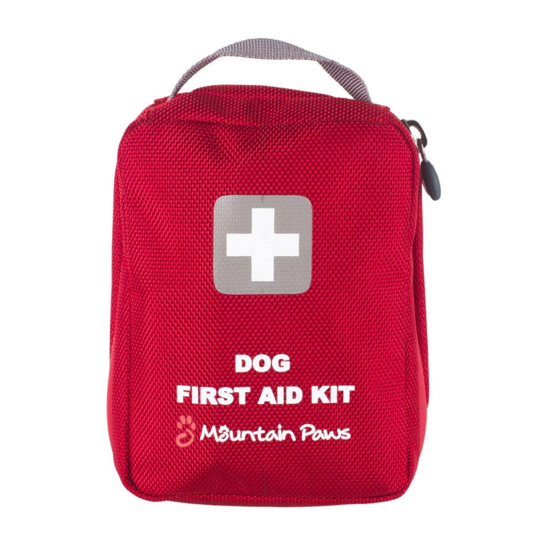 Red dog first aid kit