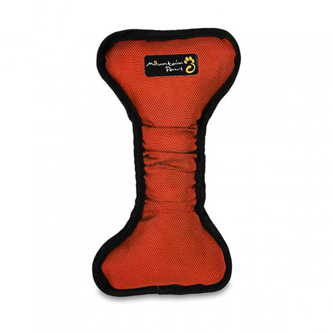 Femur dog chew bone in red