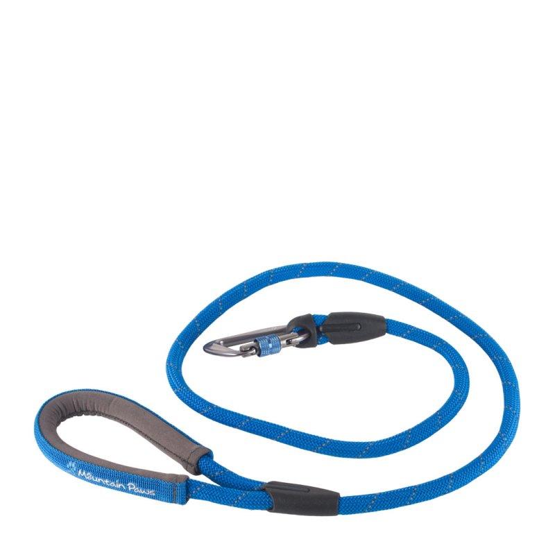 Blue rope dog lead