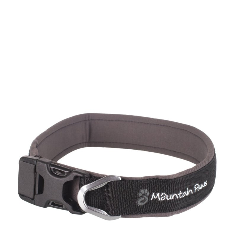 X-Large black dog collar