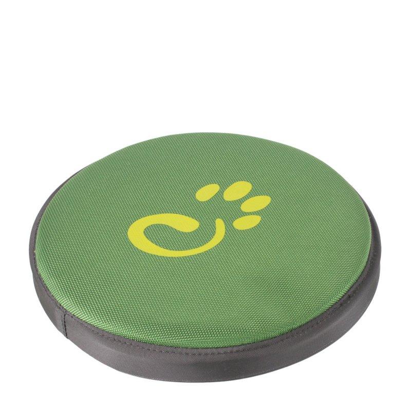 Green dog frisbee