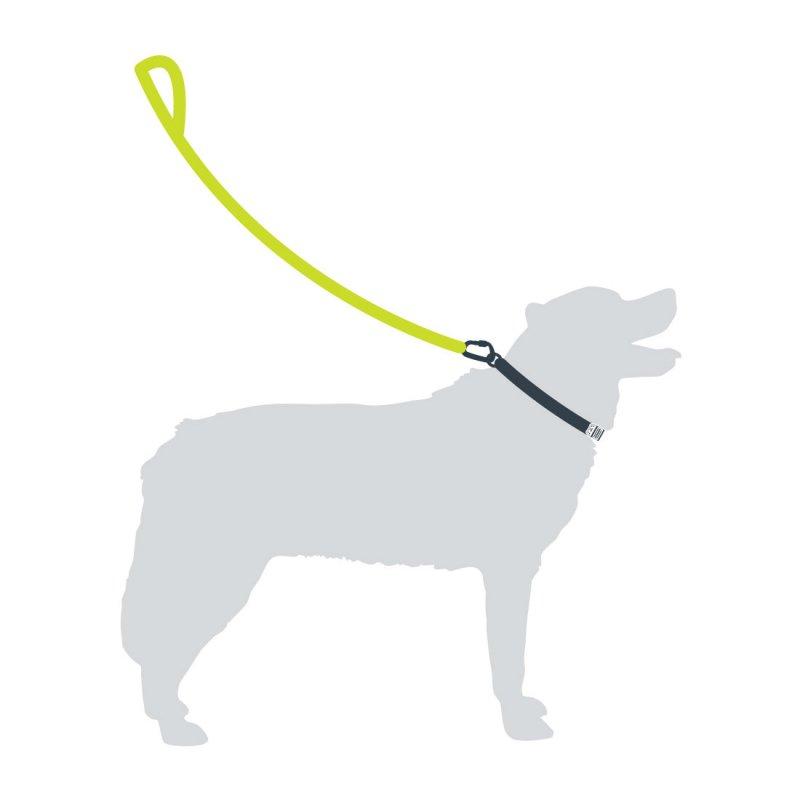 Rope Dog Lead - Black